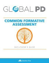 Common Formative Assessment Facilitator's Guide cover