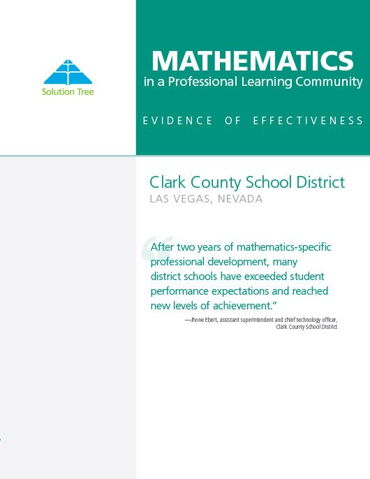 Clark County School District Success Story