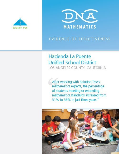 DNA Case Study: Hacienda La Puente United School District