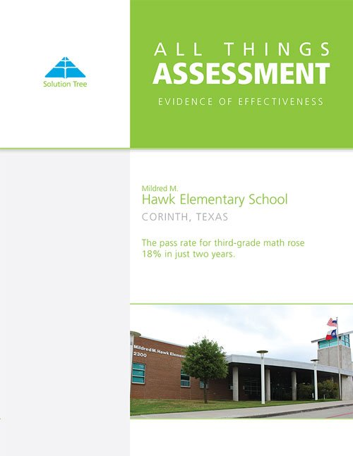 PLC Assessment Case Study: Mildred M. Hawk Elementary School
