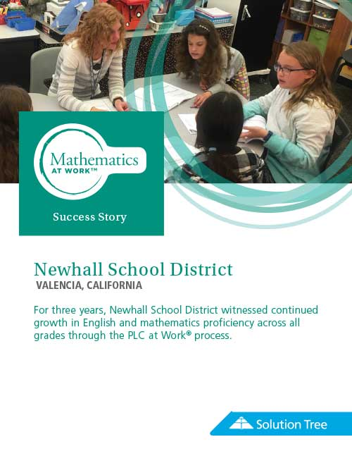 Math at Work Case Study: Newhall School District